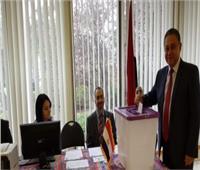 تصويت المصريين في الخارج| محمد خيرت: المشاركة في الاستفتاء تظاهرة في حب مصر بأستراليا