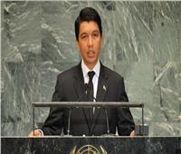 رئيس مدغشقر يدعو المواطنين لتبني مشروع قانون للتعديلات الدستورية