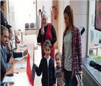 تصويت المصريين في الخارج| تزايد أعداد الناخبين بلبنانفي الاستفتاءرغم الطقس السئ