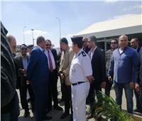 التعديلات الدستورية 2019| مدير أمن المطار يتفقد لجان الاستفتاء بميناء القاهرة الجوى لليوم الثاني