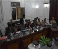 محافظ المنيا يتابع لجان التصويت على التعديلات الدستورية