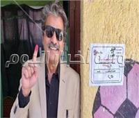 الفنان جمال عبد الناصر يشارك في الاستفتاء علي التعديلات الدستورية