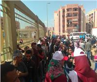التعديلات الدستورية 2019| طوابير أمام لجان «تحيا مصر» بالأسمرات للمشاركة في الاستفتاء