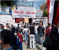 التعديلات الدستورية 2019  سكان المرج يتوافدون علي لجان الإستفتاء