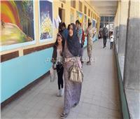التعديلات الدستورية 2019| إقبال كبير من السيدات بمصر الجديدة