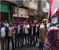 استمرار توافد المواطنين على لجان الاستفتاء بعابدين