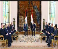 السيسي يبحث مع «أبو مازن» تطورات القضية الفلسطينية وجهود مصر لتثبيت التهدئة بغزة