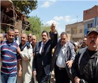 صور| محافظ القليوبية يتفقد لجان الإنتخابات بعدد من قرى المحافظة