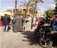 صور| توافد كثيف لأهالي الجعافرة على لجان الاستفتاء للإدلاء بأصواتهم