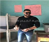 التعديلات الدستورية 2019| خالد سليم يدلي بصوته في الاستفتاء