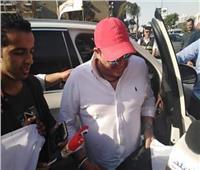بالصور.. محمد فؤاد يدلي بصوته في استفتاء التعديلات الدستورية 2019