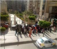 مسيرة لطلاب «الخدمة الاجتماعية» بكفر الشيخ لدعم المشاركة بالاستفتاء