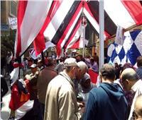 """استبعاد أمين لجنة بعد ضبطه يوجه الناخبين للتصويت ب"""" لا """" في بني سويف"""