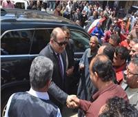 محافظ الغربية يواصل جولاته لمتابعة سير استفتاء الدستور