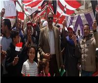 التعديلات الدستورية 2019  رئيس حي المقطم يتابع سير عملية الاستفتاء