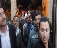 تزايد الأعداد أمام لجان كفر الشيخ قبيل إغلاق صناديق اقتراع الاستفتاء