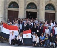 بالصور.. نصف يوم إجازة بجامعة القاهرة للمشاركة في الاستفتاء على التعديلات الدستورية