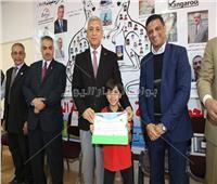 محافظ المنوفية يكرم طلبة المدرسة المصرية اليابانية المشاركين في مسابقة الكانجارو في الرياضيات