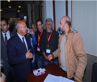 وزير النقل يتابع عمليات التصويت بلجنتي محطة سيدي جابر وميناء الإسكندرية
