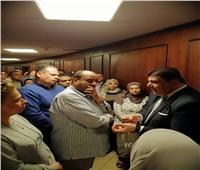 العاملين برئاسة الهيئة الوطنية للإعلام يدلون بأصواتهم في الاستفتاء بلجان ماسبيرو