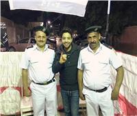 أحمد جمال يشارك في الاستفتاء على التعديلات الدستورية