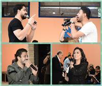 صور| مصطفى حجاج ومروة ناجي وشاهين يُشعلون حفل «في حب مصر»