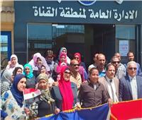 توافد العاملين بقطاع البترول لليوم الثالث على التوالي للإدلاء بأصواتهم في الاستفتاء على الدستور