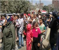 التعديلات الدستورية 2019| مسيرة بالطبل البلدي والمزمار أمام مجمع مدارس دار السلام