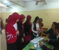 التعديلات الدستورية 2019| تزايد أعداد السيدات في لجان الاستفتاء بشبرا