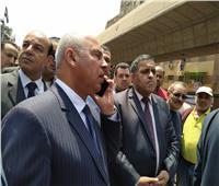 كامل الوزير يعلن عن غضبه من مستوى نظافة محطة الجيزة ويسحب الإدارة من الشركة المسؤولة