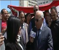 فيديو| محافظ بورسعيد: افتتاح أكبر مصنع لإطارات السيارات خلال أيام