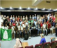 المركز الأول لجامعة الإسكندرية في ختام مهرجان الأنشطة الطلابية