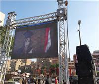 التعديلات الدستورية 2019| شاشة كبيرة و«DJ» بمجمع مدارس في الوراق