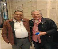 التعديلات الدستورية 2019| مصطفى فهمي يدلي بصوته في الاستفتاء