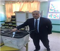 التعديلات الدستورية 2019| أبو ريدة يدلي بصوته في الاستفتاء بأكتوبر.. صور
