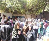إقبال كبير من السيدات على لجان المطرية في آخر أيام الاستفتاء
