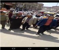 بالصور.. مسيرة حاشدة لممرضات الغربية لحث المواطنين للتصويت علي التعديلات الدستورية