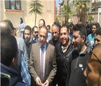 مدير أمن بورسيد يتفقد سير الانتخابات بحي الزهور