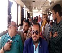 منتسبو جامعة المنيا يتوافدون للإدلاء بأصواتهم في التعديلات الدستورية