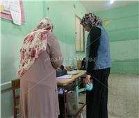 التعديلات الدستورية 2019| استمرار التصويت وقت الراحة بمدرسة علي الجارم في المنيل
