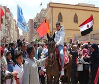 التعديلات الدستورية 2019  أهالي «الرياض» يستقبلون محافظ كفر الشيخ بالخيول والمزمار البلدي