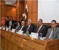 رئيس جامعة المنوفية يفتتح  فعاليات المؤتمر الخامس لقسم الطب الشرعي والسموم بكلية الطب