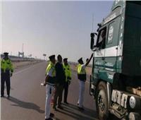 ضبط 2491 مخالفة مرورية و6 سائقين تحت تأثير المخدرات في حملات أمنية