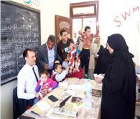 إقبال مكثف على لجان أشمون بالمنوفية في ثالث أيام الاستفتاء