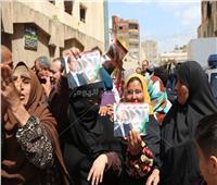 التعديلات الدستورية 2019| إقبال كبير من السيدات بلجان كفر الشيخ