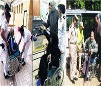 الداخلية تصطحب أسر شهداء الشرطة إلى مقار لجانهم تيسيرا عليهم للمشاركة في الاستفتاء