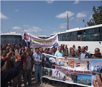 مسيرة للعاملين بكهرباء الإسكندرية لدعم التعديلات الدستورية