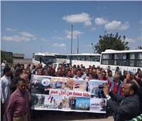 صور  محافظ أسيوط يتفقد لجان الاستفتاء بقرية كوم ابوشيل بمركز أبنوب