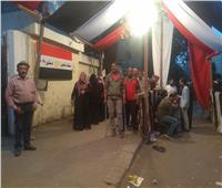 استمرار التوافد على الاستفتاء بمدرسة «شجرة الدر» في روض الفرج قبل غلق اللجان