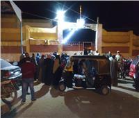 تزايد أعداد المواطنين أمام اللجان قبل إغلاق الصناديق بكفر الشيخ